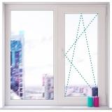 Двухстворчатые пластиковые окна