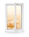 Одностворчатое окно Rehau Blitz 570х1420
